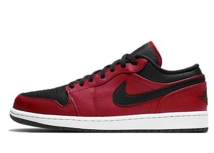 Nike Air Jordan 1 Low Gym Red Blackの写真