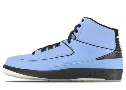 Nike Air Jordan 2 Retro QF Univ. Blue Black (2010)の写真