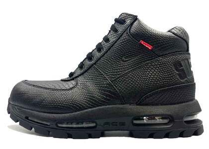 Supreme × Nike Air Max Goadome Blackの写真