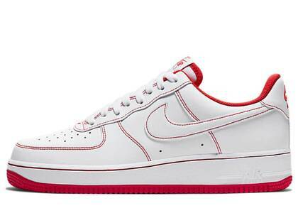 Nike Air Force 1 07 Low Radiant Redの写真