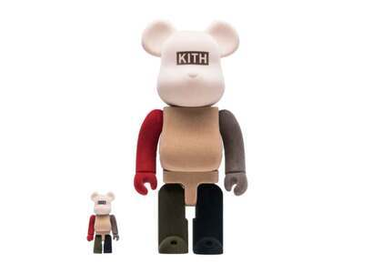 Kith x Be@rbrick 100% & 400%  Set Multiの写真