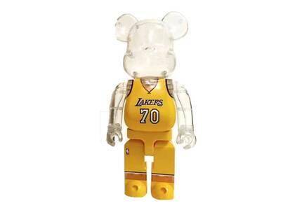 NBA × Be@rbrick Los Angeles Lakers 400%の写真