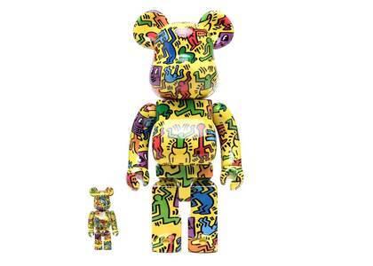 Keith Haring × Be@rbrick #5 100% & 400%の写真