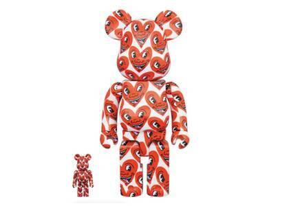 Keith Haring × Be@rbrick #6 100% & 400%の写真