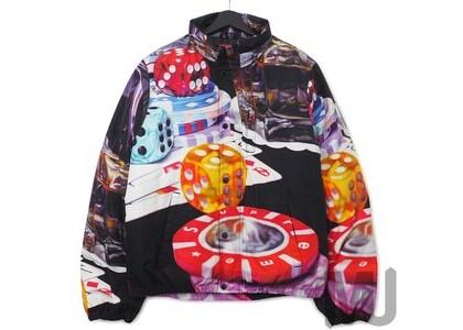 Supreme Casino Down Jacket Blackの写真