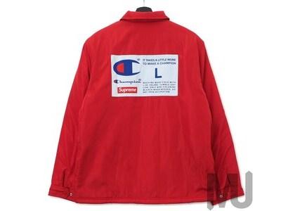 Supreme Champion Label Coaches Jacket Redの写真