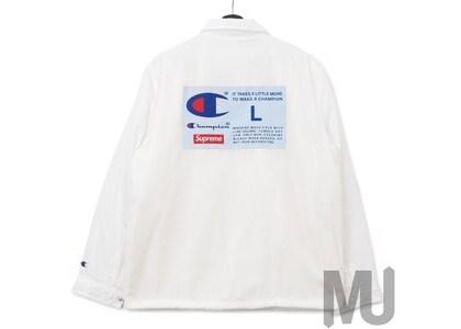 Supreme Champion Label Coaches Jacket Whiteの写真
