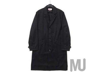 Supreme Comme des Garcons SHIRT Wool Overcoat Blackの写真