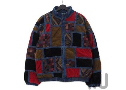 Supreme Corduroy Patchwork Denim Jacket Washed Blueの写真
