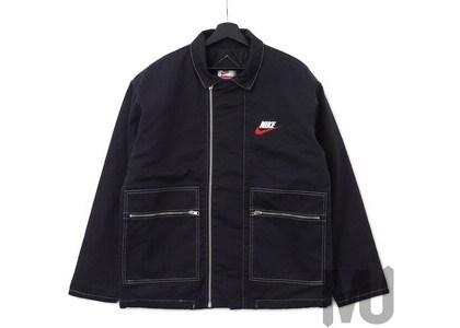 Supreme Nike Double Zip Quilted Work Jacket Blackの写真