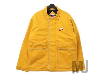 Supreme Nike Double Zip Quilted Work Jacket Mustardの写真