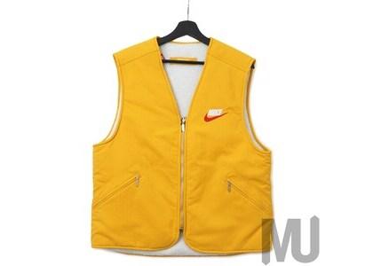 Supreme Nike Reversible Nylon Sherpa Vest Mustardの写真