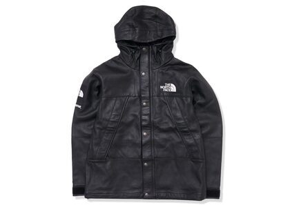 Supreme The North Face Leather Mountain Parka Blackの写真