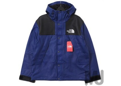 Supreme The North Face Leather Mountain Parka Royalの写真