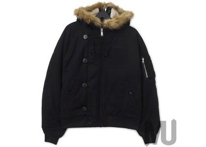 Supreme Wool N-2B Jacket Blackの写真