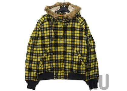Supreme Wool N-2B Jacket Yellow Plaidの写真