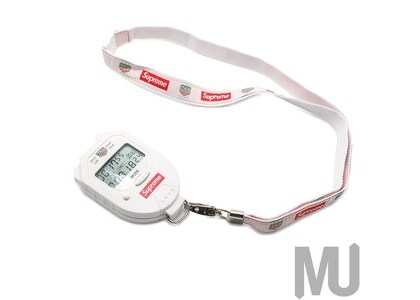 Supreme Tag Heuer Pocket Pro Stopwatch Whiteの写真