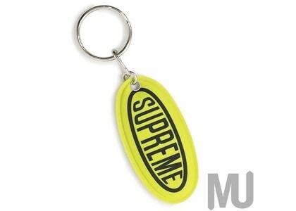 Supreme Reflective Keychain Brilliant Greenの写真