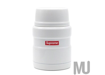 Supreme Thermos Stainless King Food Jar and Spoon Whiteの写真