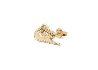Supreme Nike 14K Gold Earring (Single) Goldの写真