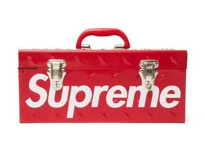 Supreme Diamond Plate Tool Box Redの写真