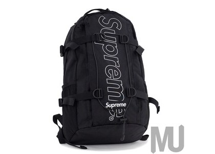 Supreme Backpack (FW18) Blackの写真