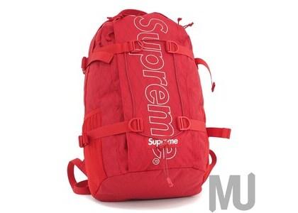 Supreme Backpack (FW18) Redの写真