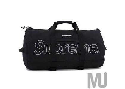 Supreme Duffle Bag (FW18) Blackの写真