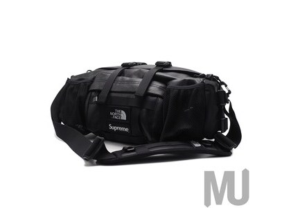 Supreme The North Face Leather Mountain Waist Bag Blackの写真