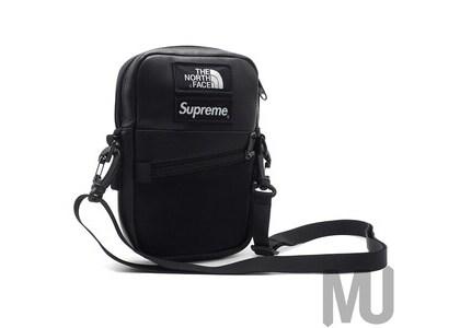 Supreme The North Face Leather Shoulder Bag Blackの写真