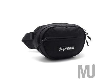 Supreme Waist Bag (FW18) Blackの写真