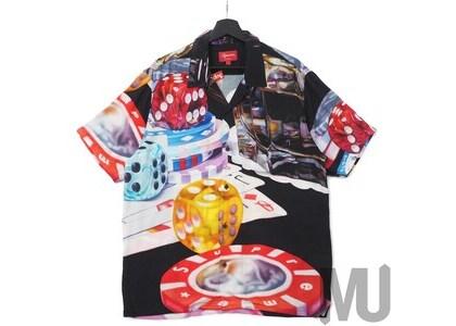 Supreme Casino Rayon Shirt Blackの写真