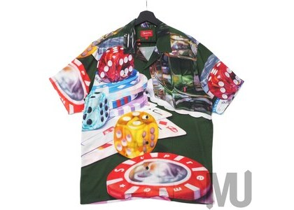 Supreme Casino Rayon Shirt Greenの写真