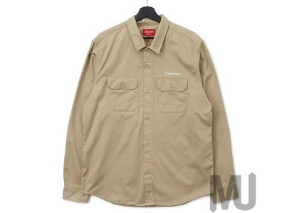 Supreme Mike Kelley AhhYouth! Work Shirt Khakiの写真