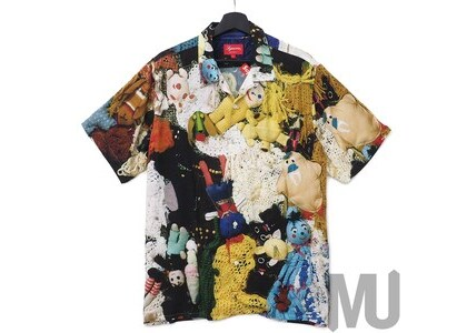 Supreme Mike Kelley More Love Hours Than Can Ever Be Repaid Rayon Shirt Multicolorの写真