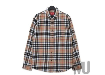 Supreme Tartan L/S Flannel Shirt Tanの写真