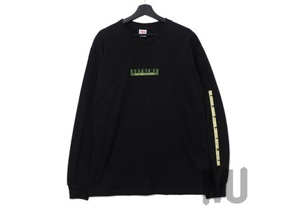 Supreme 1994 LS Tee Blackの写真