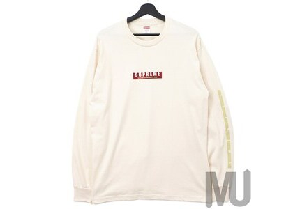 Supreme 1994 LS Tee Naturalの写真