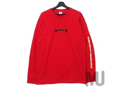 Supreme 1994 LS Tee Redの写真