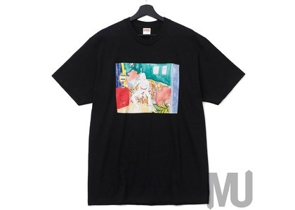 Supreme Bedroom Tee Blackの写真