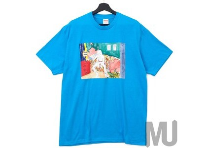 Supreme Bedroom Tee Bright Blueの写真