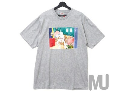 Supreme Bedroom Tee Heather Greyの写真