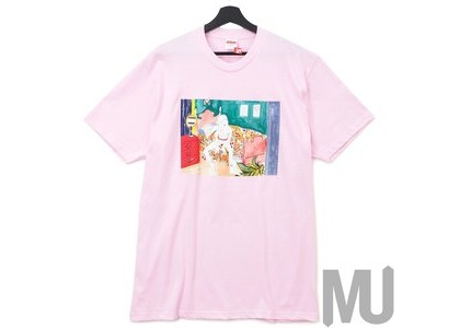 Supreme Bedroom Tee Light Pinkの写真