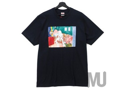 Supreme Bedroom Tee Navyの写真