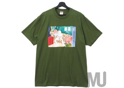 Supreme Bedroom Tee Oliveの写真