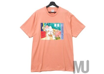 Supreme Bedroom Tee Terra Cottaの写真