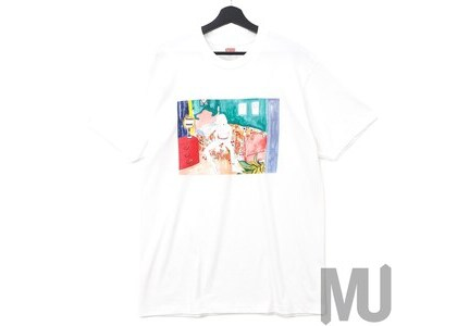 Supreme Bedroom Tee Whiteの写真