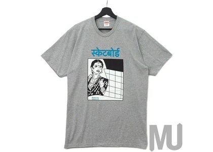 Supreme Bombay Tee Heather Greyの写真