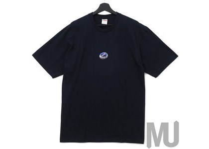 Supreme Bottle Cap Tee Navyの写真
