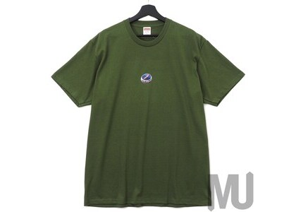 Supreme Bottle Cap Tee Oliveの写真
